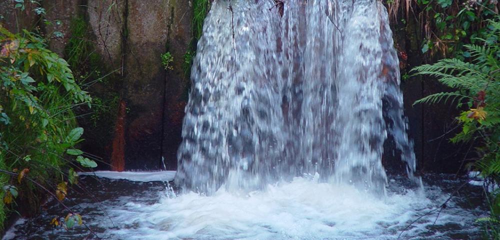 eau, cascade