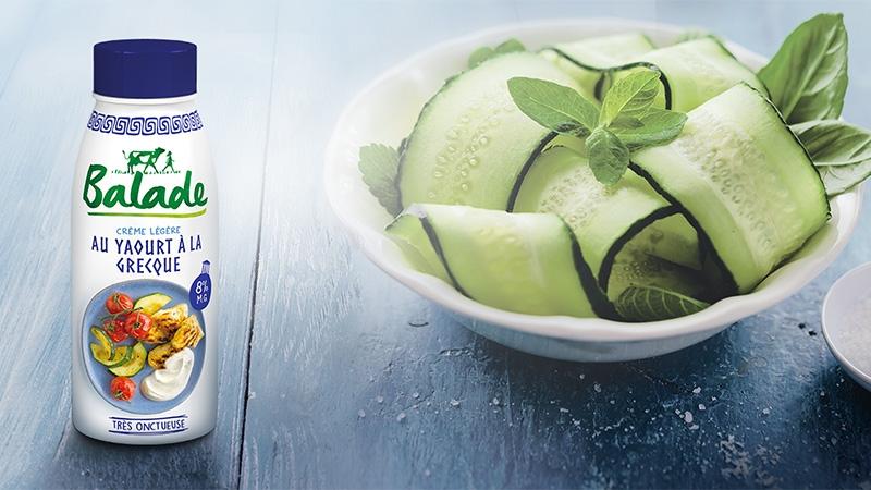 Ontdek de room met Griekse yoghurt van Balade