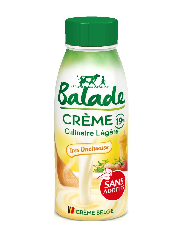 lait, crème, sans additifs