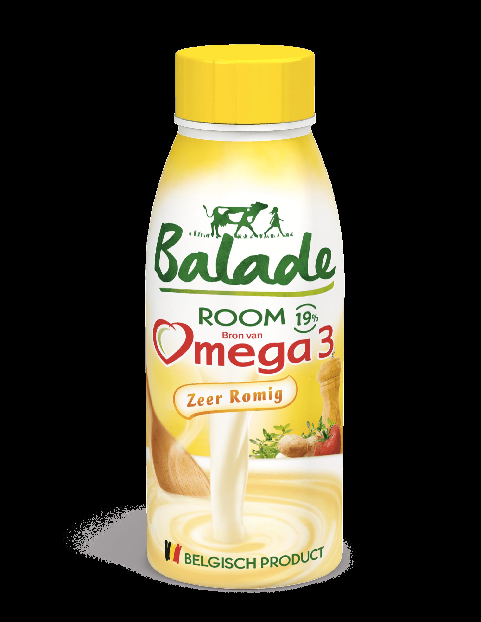 room melk, omega 3